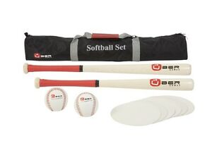 New Baseball Set With Baseballs Bats And Bases Baseball Set Base Balls Equipment