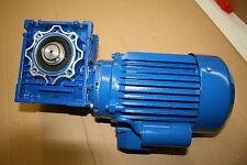 Schneckengertiebe NMRV 05, 0,37KW 1400/35 U/min, B3, Getriebemotor, Elektromotor