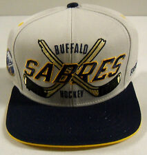 NHL Buffalo Sabres Reebok Snapback Cotton Cap Hat OSFA NEW!