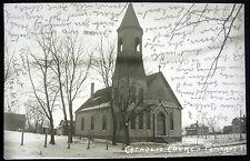 Pomeroy Iowa ~ 1907 CATHOLIC CHURCH  Real Photo PC    RPPC
