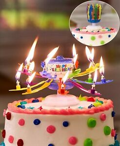 The Incredible Birthday Candle with Sparklers - Glitter Candle