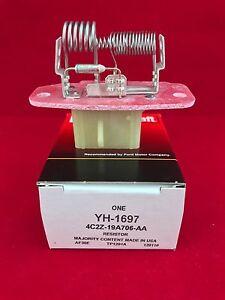 New Genuine OEM Motorcraft Ford HVAC Blower Motor Resistor YH1697 4C2Z-19A706-AA