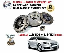 FOR AUDI A3 1.6 TDI + 1.9 TDI 2003--> NEW CLUTCH + FLYWHEEL CONVERSION KIT