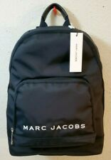 New $225 Marc Jacobs Black Nylon Logo Women's Backpack M0014780 001