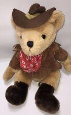 Russ Ours from the Past-Remington Cowboy Ours portant chapeau de cow-boy