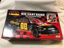 Die Cast Bank NASCAR 1/24 scale ERNIE IRVAN Texaco Havoline Racing 1995 Series