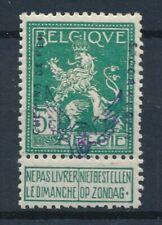 [2124] Belgium 1915 railway good stamp very fine MH value $300. Signed