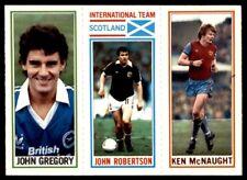 Topps Football 1981 Blue 119. Gregory / 184. Robertson / 13. Ken McNaught