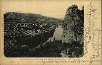 Bad Münster am Stein-Ebernburg AK 1899 Rheingrafenstein Rothenfels Panorama Nahe