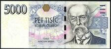 Czech republic 5000 korun 2009 - 3rd issue - P 27- Unc