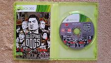 Sleeping Dogs  Xbox 360 / Fr intégral / complet / tbé / envoi gratuit