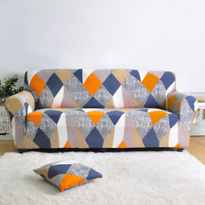 Elastic Sofa Cover For Sectional Sofa Couch Cover Chair Protector 1/2/3/4 Seater