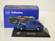 21 ) Atlas Verlag Volvo Collection - Volvo PV52 - blau  in OVP 1:43