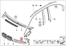 Genuine BMW 325i 325xi 330i 330xi 2001 2002 2003 2004 2005 Headlight Trim Seal