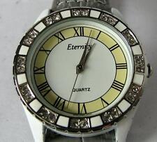 Eternity Ladies Quartz Watch with Leather Bracelet
