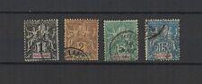 MARTINIQUE  4 timbres anciens oblitérés  /T1300
