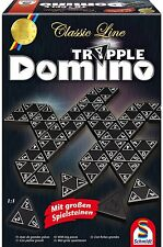 SCHMIDT SPIELE 49287 - CLASSIC LINE - TRIPPLE DOMINO # NEU OVP