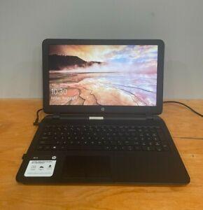 HP Laptop 15.6-inch 15-f004dx Laptop AMD E1-2100 Win 10 4Gb RAM 180GB HD AS – IS