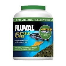 Fluval Vegetable Fish Flake Advanced formula replaces Nutrafin Spirulina Kelp