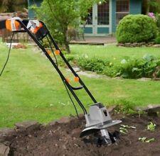 Electric Tiller 1050W - Garden Soil Cultivator / Rotavator Electronic