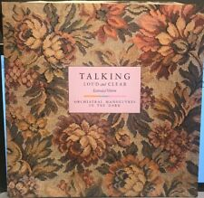 """Talking Loud And Clear Extended Version Orchestral Manoeuvres In The Dark 12"""" Vy"""