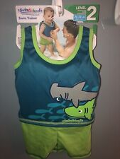 New Swim School Swim Trainer Level 2 (20-33 Lbs) Shark One Piece