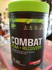 MusclePharm  Combat BCAA   Recovery  Fruit Punch  17 oz  483 g