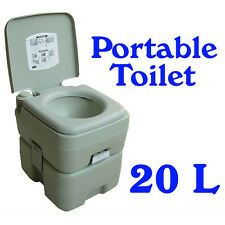 Camping Portable Toilet 20 L Outdoor Fishing Caravan