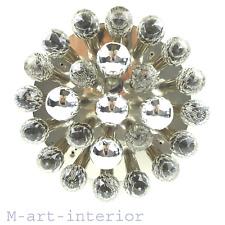 Ernst Palme Swarovski cristal lustre lampe Crystal Drops Lamp Chandelier 1960 S