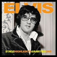 ELVIS PRESLEY - STAGE HIGHLIGHTS & RARITIES ONE  -  Elvis Concert Fan Label