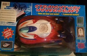 NEW Straightway Hovercraft Boat RC Car Land Sea 3 Motors Newqida 757-058 R/C Toy