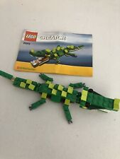 LEGO Creator Brickmaster Set 20015 Crocodile Alligator - COMPLETE + Instructions