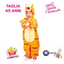 CARNEVALE costume WINNIE THE POOH TG.BABY 4-5 ANNI orsetto