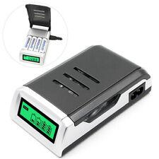 4slots inteligente cargador pilas para AA/AAA NiCd baterías recargables de NiMh