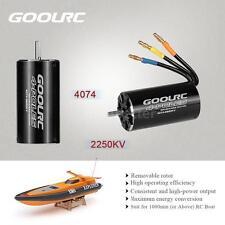 GoolRC 4074 2250KV 4 Poles Brushless Sensorless Motor RC Boat 1000mm+  K4E5