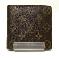 Auth LOUIS VUITTON Porte Billets Cartes Credit Monnaie M61665 Monogram CA0928