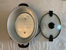 Crock-Pot 6 Quart Programmable Cook & Carry Slow Cooker Black - NO POT