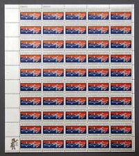 "US Stamps 1966 Mint Sheet 5 cent ""Migratory Bird Treaty"" Mar 16th MNH SC# 1306"