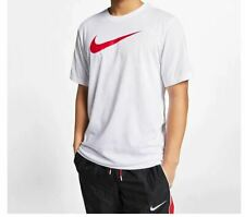 Nike Men's Crew Neck Short Sleeve Raindrop Print White Size M New with tag