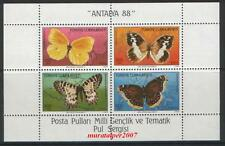 TURKEY 1988, NATIONAL STAMP EXHIBITION ( BUTTERFLY ) MNH