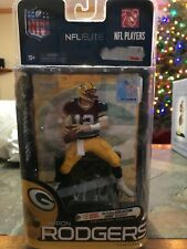 McFarlane NFL Elite Series 1 Aaron Rodgers Green Jersey Green Bay Packers