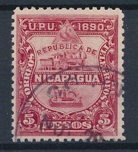 [35843] Nicaragua 1890 Good stamp Very Fine used