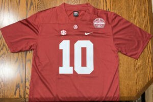 Mac Jones Jersey Alabama Crimson Tide Red 2020 National Champions S Small