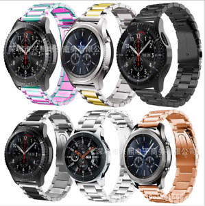 Stainless Steel Metal Strap Watch Band For Samsung Galaxy Watch 3 45MM / 46mm