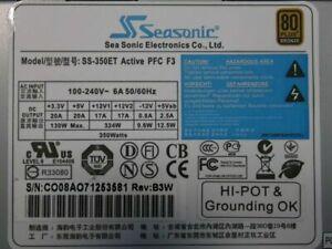 SEASONIC | 80 Plus | SS-350ET | Active PFC | 80+ | 350 Watt  | NEU