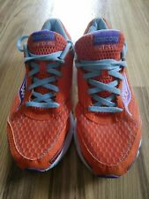 Saucony Outduel Women's Running Shoes 15146-4 Orange Blue US Size 10