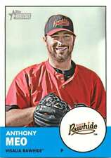 2012 Topps Heritage Minor League #47 Anthony Meo NM-MT