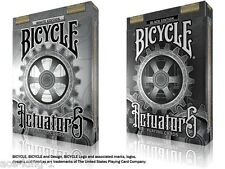 2 decks BICYCLE STEAMPUNK ACTUATORS PLAYING CARDS poker magic