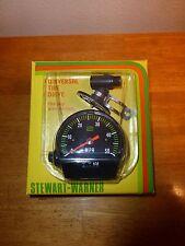 """Vintage 1990's NOS Stewart Warner """"Touring"""" Speedometer"""