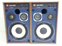 JBL 4312M II 2 Compact 3 Way LoudSpeaker Speaker Set Blue Line Japan